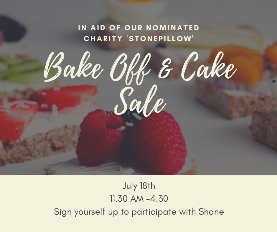 Bake Off & Cake Sale
