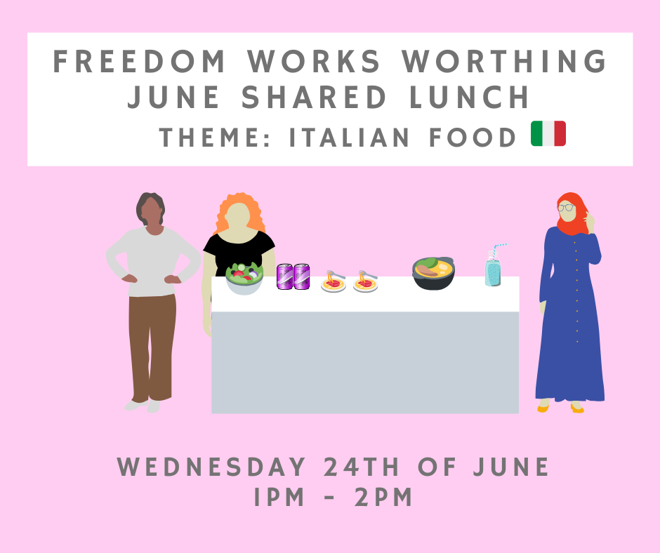 Worthing June Shared Lunch!