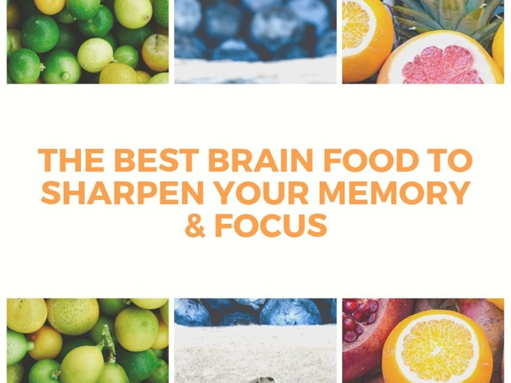 The Best Brain Food to Sharpen Your Memory & Focus