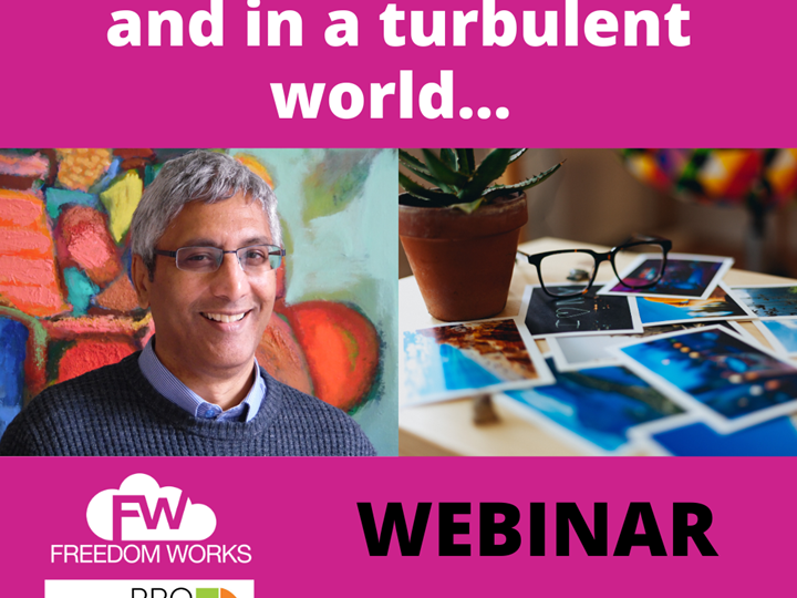 HOW TO MAKE DECISIONS IN A TURBULENT WORLD - WEBINAR RECORDING
