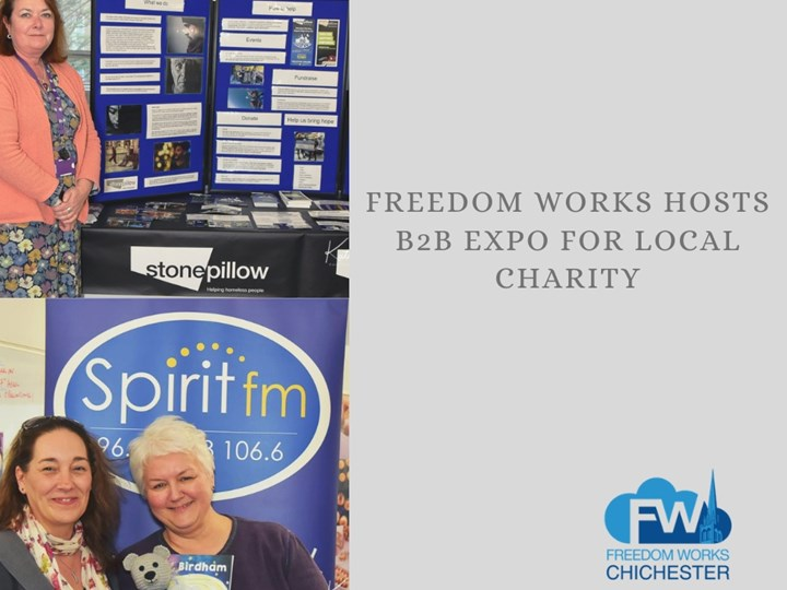 Freedom Works hosts B2B Expo for local charity