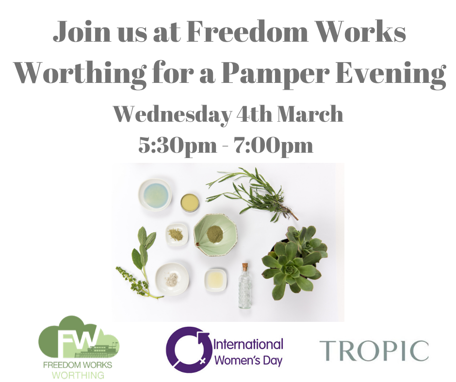 Pamper Evening with Freedom Works & Tropic