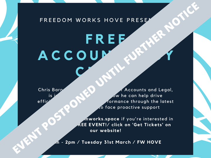 Free Accountancy Clinic - FW HOVE